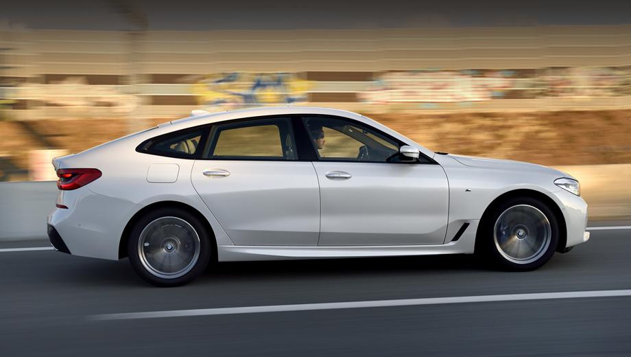 Лифтбек BMW 6-SeriesGT 2018 получил новый мотор для Европы