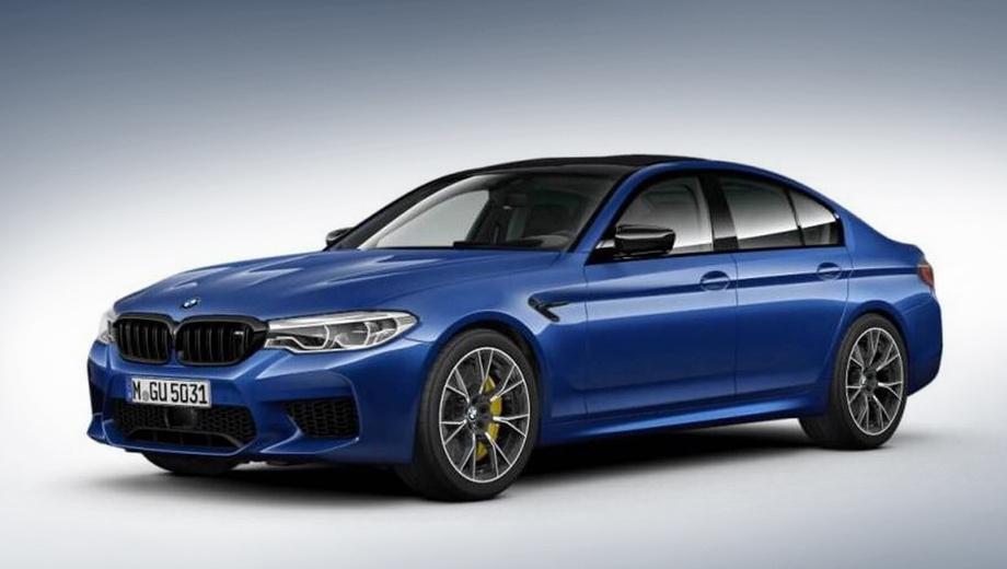 Суперседан BMW M5 показали допремьеры