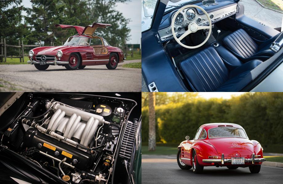 Benz возобновила выпуск комплектующих для ретро-купе 300 SL