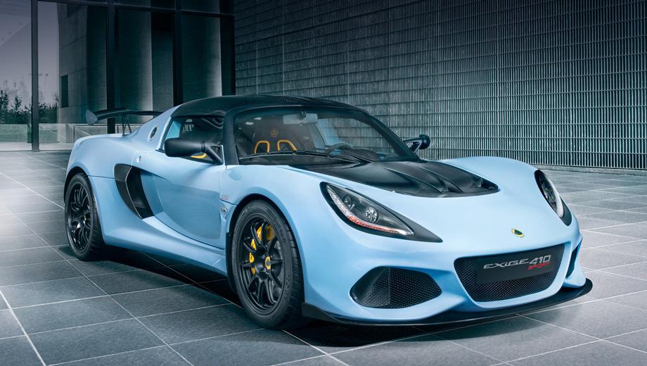Lotus Exige 410 Sport получил детали от версии 430 Cup