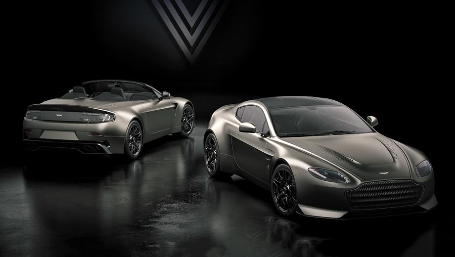 Aston martin vantage,Aston martin v12 vantage,Aston martin v12 vantage v600. Всего британцы выпустят 14 купе и родстеров Aston Martin V12 Vantage V600 ― по семь машин с каждым типом кузова. Поставки автомобилей клиентам начнутся в третьем квартале этого года, но цены не названы.