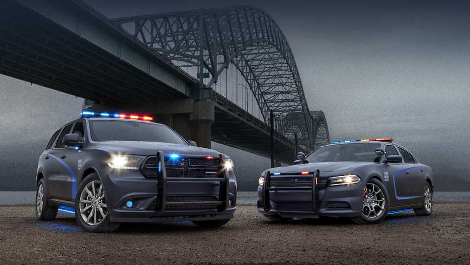 Dodge Durango приспособили для нужд милиции