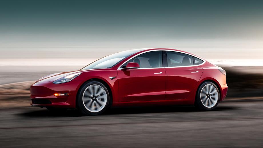 Tesla model 3. Номинальный запас хода на одной зарядке у Model 3 Long Range — 499 км в комбинированном цикле EPA.