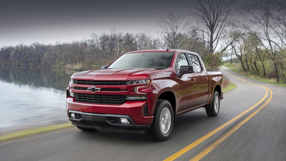 Chevrolet silverado. Модель 2019 Silverado 1500 больше, чем когда-либо, может быть приспособлена к потребностям разных категорий покупателей: от прижимистых хозяев фирм, выбирающих простой пикап для работы, и до тех, кто видит в нём «сгусток современных технологий».