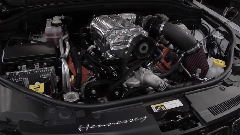 Модель Jeep Grand Cherokee Trackhawk от Hennessey удивила