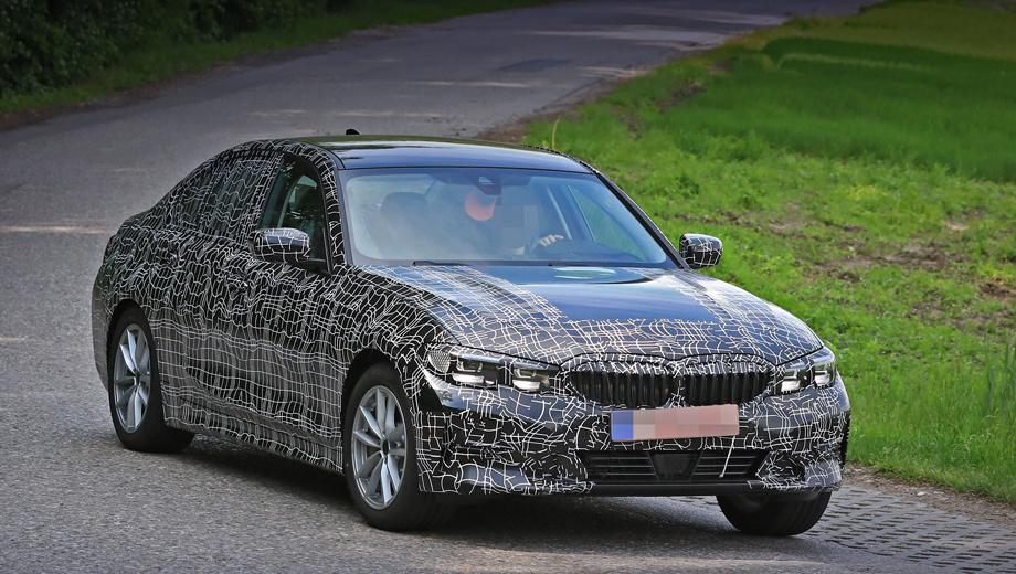 Bmw 3. В семействе G20 появятся два гибрида ― 230-сильный BMW 325e и 265-сильный 330e. Оба смогут проезжать до 50 км на одной электротяге и заряжаться от бытовой сети. А к 2020-му подоспеет полностью электрическая версия с запасом хода 500 км.