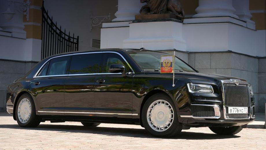 Российские автомобили Aurus выйдут на рынок через год