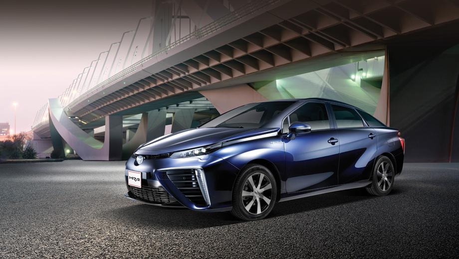 Toyota mirai. Водородная модель Toyota Mirai сейчас продаётся в Японии, США и девяти европейских странах. Но уже идут демонстрационные тесты в Австралии, Канаде, Китае и ОАЭ. Список рынков будет расширяться.