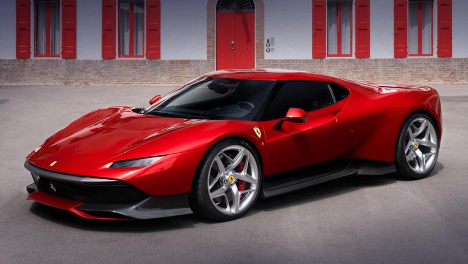 Ferrari sp38. Ferrari SP38 получило оригинальный кузов из алюминия и композитных материалов. Впервые живьём автомобиль покажут публике на мероприятии Concorso d'Eleganza Villa d'Este, которое откроет свои двери 26 мая 2018 года.