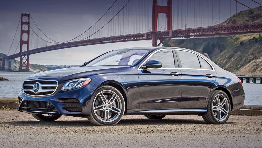 Mercedes e. В США Mercedes E-класса представлен седаном, купе и кабриолетом. Четырёхдверка доступна в исполнениях E 300/300 4Matic (245 л.с.), E 400 4Matic (333 л.с.), E 43 (401 л.с.) и E 63 S (612 л.с.). Цены ― от $52 950 до $104 400.