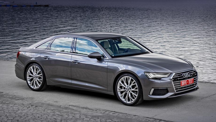 Audi a6. Первым в России запускается бензиновый турбомотор 3.0 (340 л.с.), затем появятся версии с моторами 2.0 TFSI (предварительно 190 л.с. и 245) и 3.0 TDI (249). Двухлитровый турбодизель (204)  к нам не привезут, хотя, например, у BMW версия 520d — бестселлер.