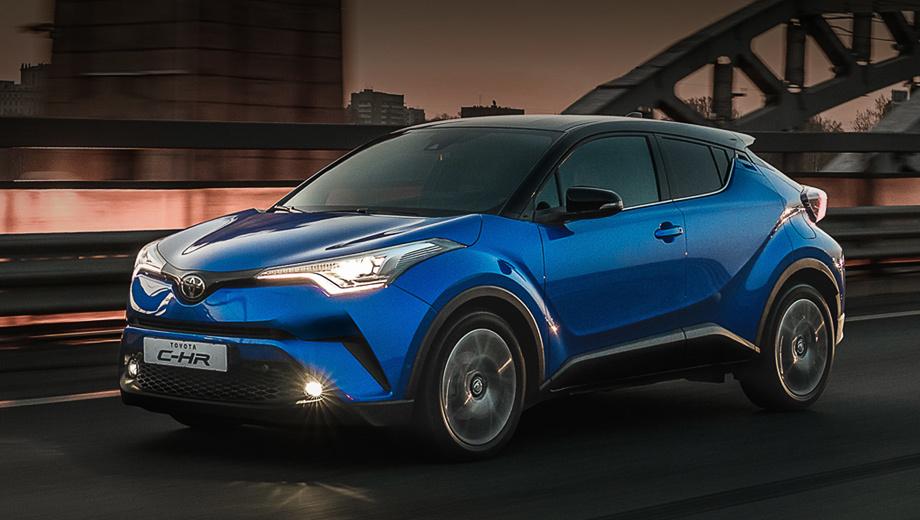 Кроссовер Toyota C-HR получил базовый ценник в России
