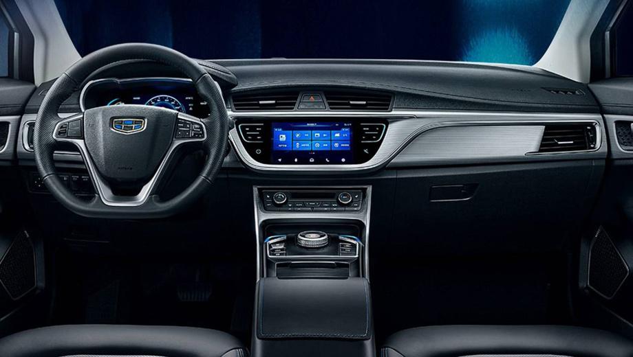 Geely представила электромобиль Emgrand GSe