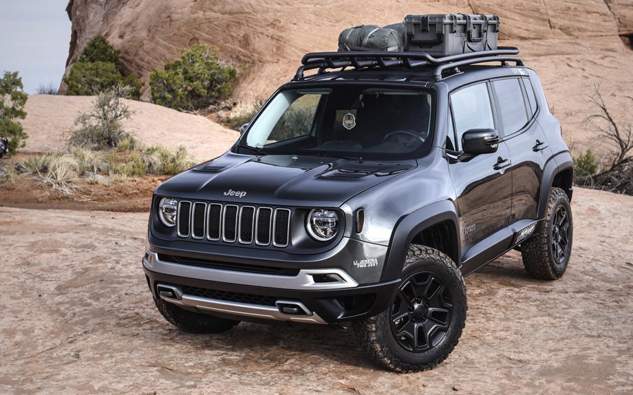 Названа дата презентации улучшенного  кроссовера Jeep Renegade
