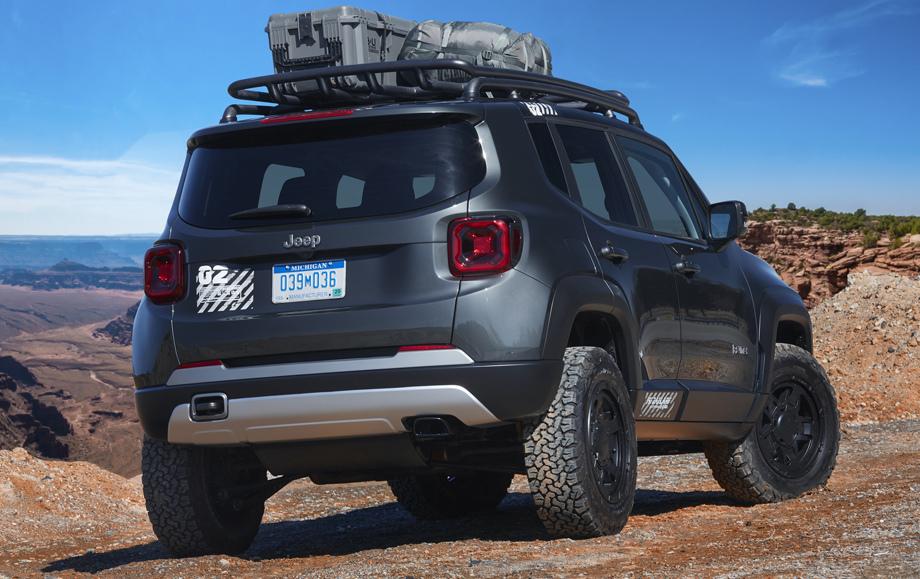 Jeep показала тизер улучшенного джипа Renegade
