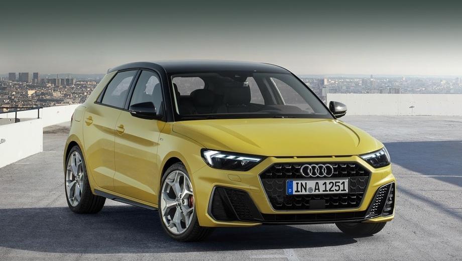 Audi a1. По неофициальным данным, немцы могут представить хэтчбек на нынешней неделе.