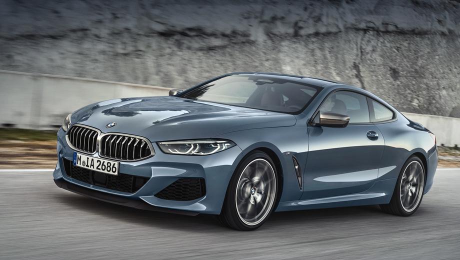 Bmw 8. Как говорят в BMW, у новой «восьмёрки» самые узкие фары из тех, что ставятся на современные модели из Мюнхена. По умолчанию фронтальная оптика светодиодная, а за доплату она будет адаптивной или вовсе лазерно-люминофорной, с дальним светом, бьющим на 600 м.
