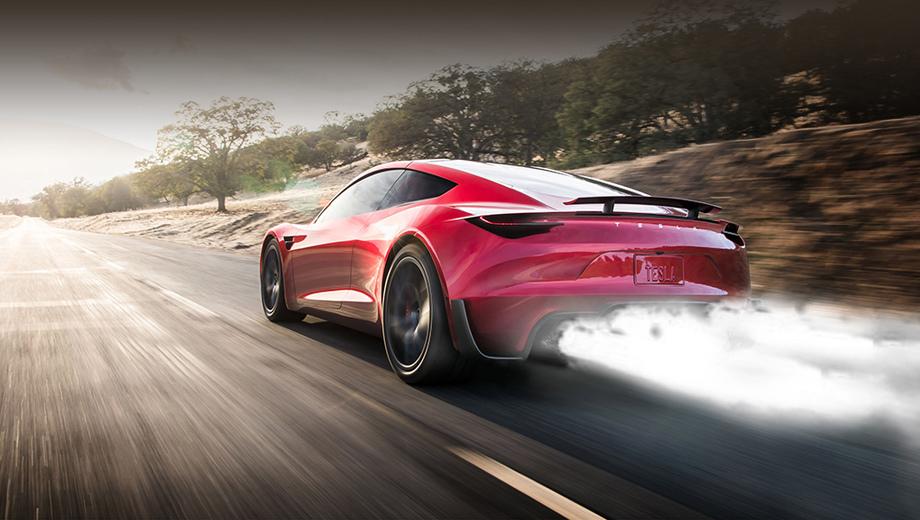Электрокар Tesla Roadster удивит ракетными движками