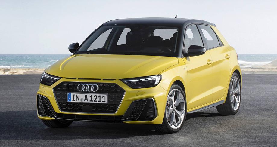 Audi рассекретила новый A1 Sportback
