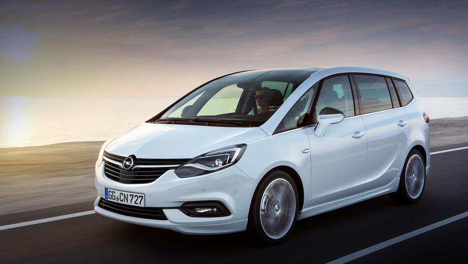 Opel zafira tourer,Opel astra gtc,Opel zafira. Рестайлинг 2016 года лишил Зафиру приставки Tourer, но не улучшил европейские продажи модели. В 2017-м они достигли рекордно низкой отметки в 47 895 штук. Заметим, в начале нулевых ежегодно раскупалось более 200 тысяч компактвэнов.