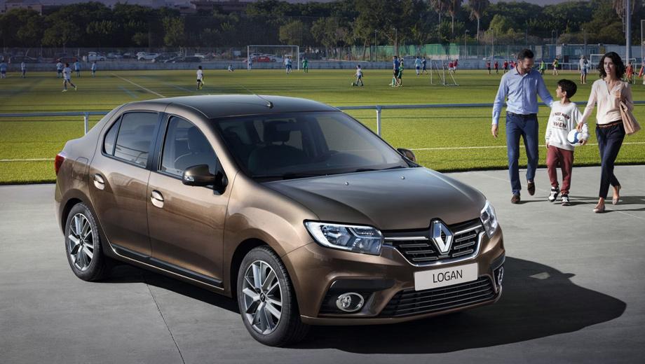 Renault logan,Renault sandero,Renault sandero stepway,Renault logan stepway,Dacia logan mcv stepway. В нашей стране до сих пор продаются дореформенные Логаны, хотя модель под брендом Dacia обновилась в 2016 году и свежая версия от Renault (на фото) не заставила себя ждать. Изменились фактура решётки, фары (теперь со светодиодами) и бамперы.