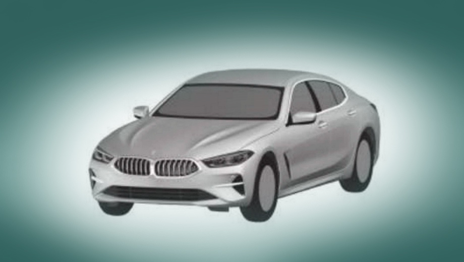 Седан BMW Gran Coupe восьмой серии показался на рисунке