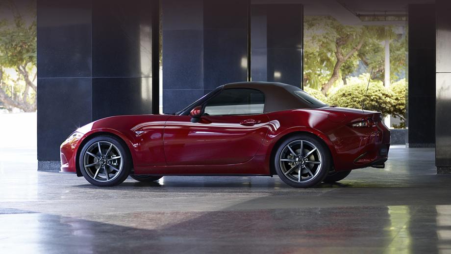 Европейская версия родстера Mazda MX-5 стала мощнее
