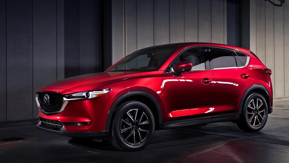 Кроссовер <b>Mazda CX</b>-<b>5</b> получит наддувный двигатель — ДРАЙВ