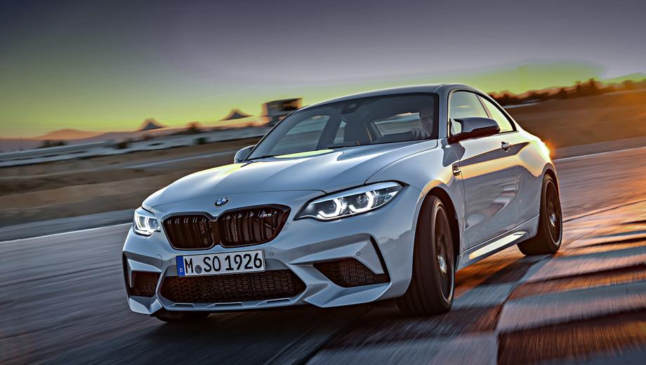 Bmw m2. Рядная «турбошестёрка» от BMW M3 и M4 пришпоривает купе до сотни за 4,2–4,4 с, после чего купе упирается в электронный ограничитель на отметке 250 км/ч. Но на помощь может прийти пакет M Driver's Package и нарастить максималку ещё на 30 км/ч.