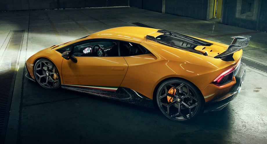Бюро Novitec поработало над купе Lamborghini Huracan Performante — ДРАЙВ