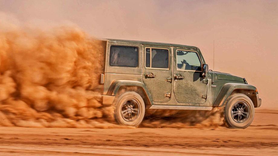 Европейский Jeep Wrangler получит бензиновый идизельный двигатели