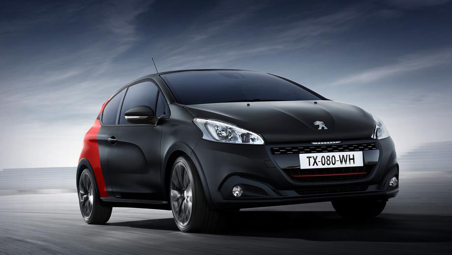 Peugeot 208,Peugeot 208 gti. Нынешний Peugeot 208 GTI (на фотографии) оснащается 208-сильным турбомотором 1.6 THP (300 Н•м) и шестиступенчатой «механикой», а разгон до сотни занимает 6,5 с. У преемника сохранится двигатель 1.6, но его модернизируют, после чего отдача составит 220–225 сил.