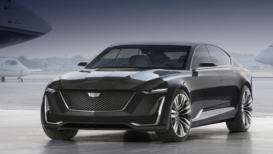 Cadillac escala,Cadillac ct5. Дизайнерские решения, показанные концептом Escala образца 2016 года (на фото), уже нашли применение на серийных моделях. К примеру, решётку и фонари в таком стиле получил Cadillac CT6.