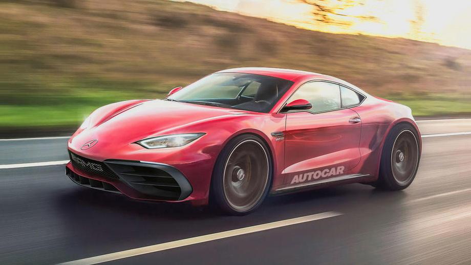 AMG разрабатывает конкурента для спорткара Порш Cayman
