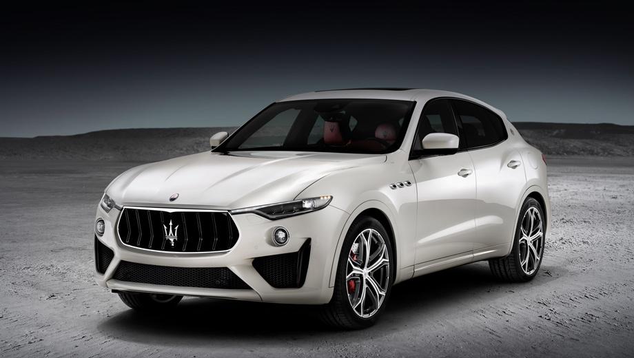 Maserati levante,Maserati levante gts. Премьера «джи-ти-эса» состоялась сегодня на Фестивале скорости в Гудвуде. Лицо повторяет передок «горячего» Trofeo, хотя и в упрощённом виде. Кстати, при выходе на рынок GTS принесёт с собой дизайн 22-дюймовых колёс Orione, самых крупных у Maserati.