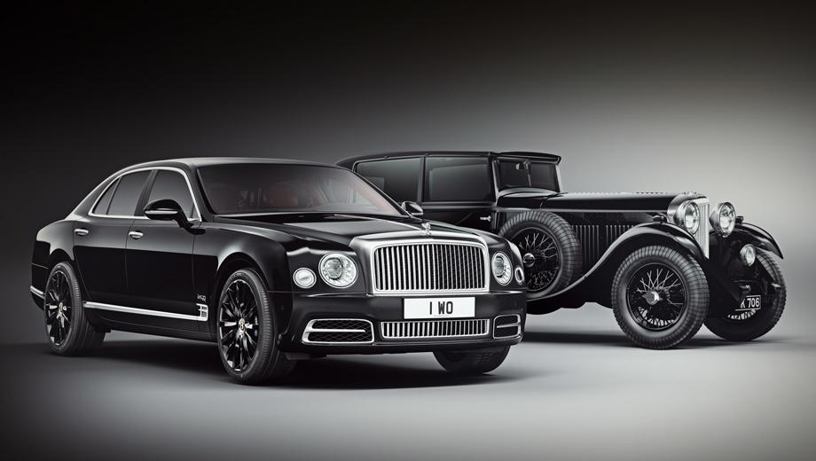 Седан Bentley Mulsanne W.O. Edition украсился коленвалом