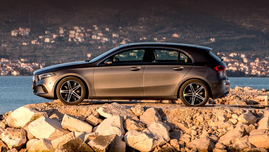 В России появился полноприводный хэтчбек Mercedes A-класса