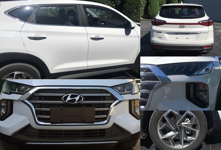 Паркетник Hyundai Tucson незаурядно обновился в Китае
