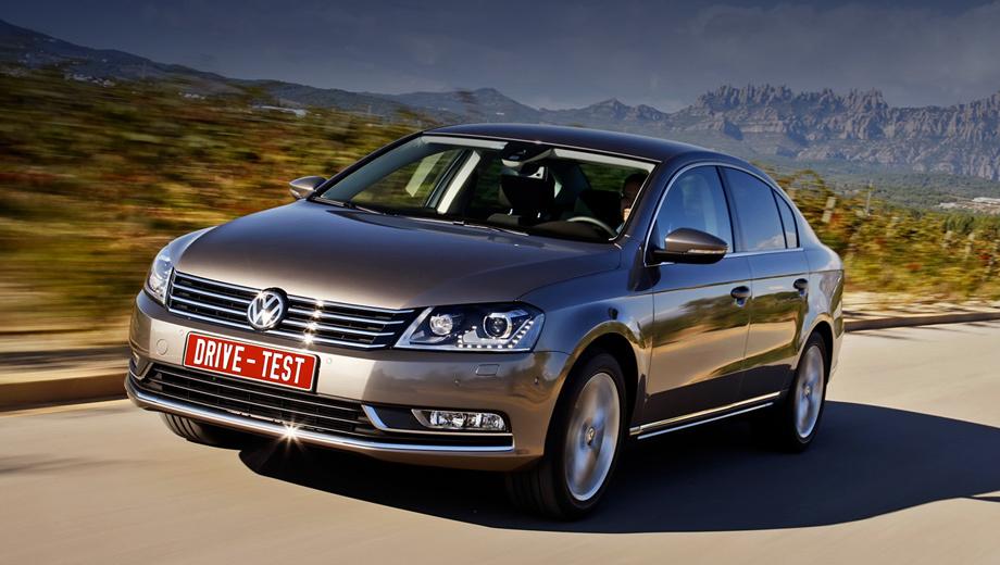 Volkswagen passat,Volkswagen passat_dt. Фейслифтинг удался. Но по сравнению с «шестым» Гольфом «седьмой» Passat не модернизирован настолько, чтобы по праву считаться новой моделью.