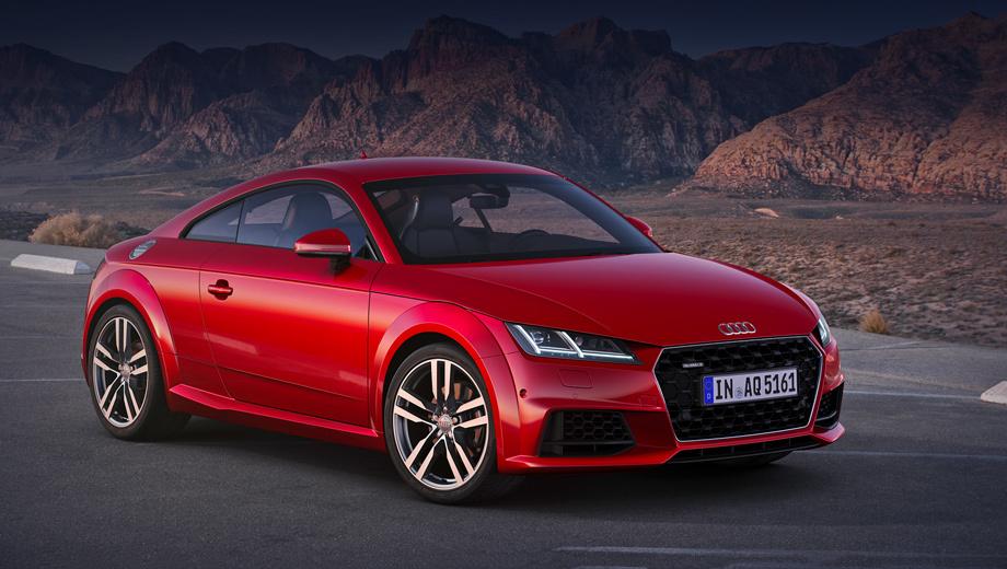 после рестайлинга модель Audi Tt лишилась двух моторов драйв