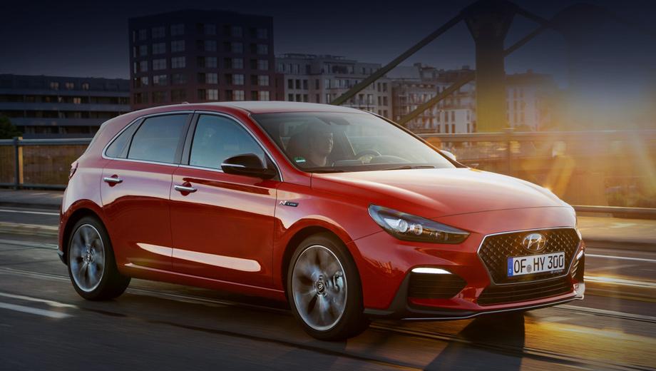 Hyundai i30. Пакет N Line можно будет заказать на хэтчбеки Hyundai i30 с бензиновым мотором 1.4 T-GDI (140 л.с.) и турбодизелем 1.6 CRDi (136 л.с.). С обоими агрегатами сочетаются базовая шестиступенчатая «механика» или опциональный семидиапазонный «робот» с двумя сцеплениями.