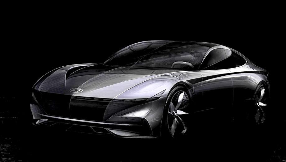 Hyundai n. Концепт Le Fil Rouge задал стилистическое направление для оспортивленных моделей Hyundai на несколько лет вперёд. Само собой, он повлияет на дизайн флагманской N-машины.