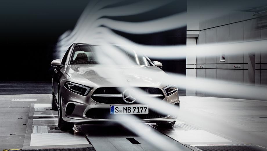 Mercedes a. Выдающийся результат удалось получить, сочетая множество циклов компьютерного моделирования с продувками прототипов в аэродинамической трубе.