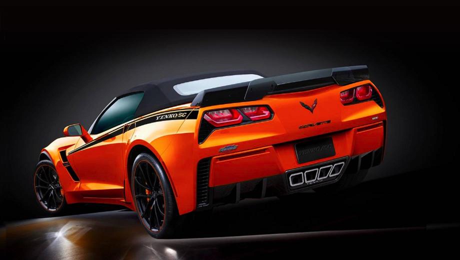 Chevrolet corvette. Идеологические наследники гонщика и автодилера Дона Йенко подходят к делу основательно, а потому дают на форсированный двигатель гарантию в три года или 60 000 км.