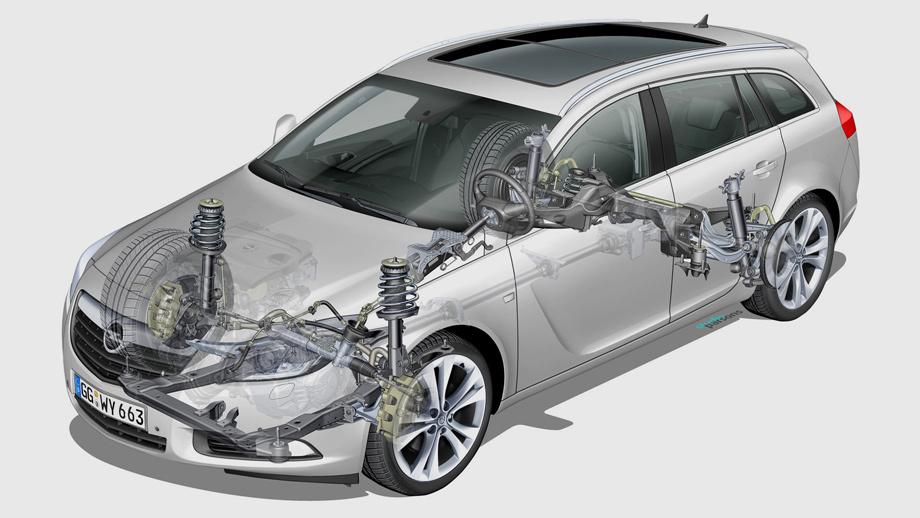 Flexride And Adaptive 4X4 - Opel 2013 Insignia Brochure & Specs [Page 11] | ManualsLib