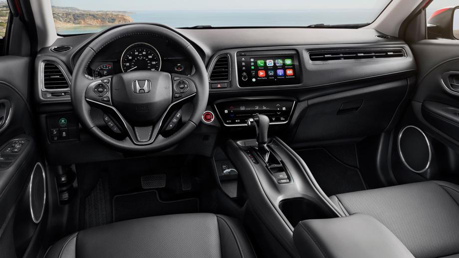 Кроссовер Хонда HR-V лишился ручной коробки переключения передач