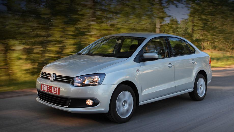 Volkswagen polo. Официальные продажи седанов Polo стартуют в начале сентября. А пока дилеры формируют портфель заказов. Продавцы обещают очередь длиной в три месяца.