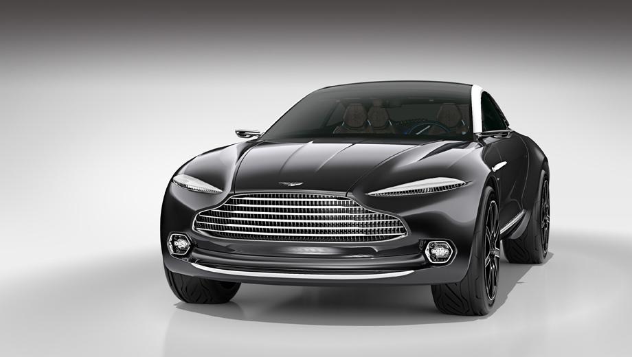 Aston martin varekai. В общих чертах серийный паркетник будет похож на концепт DBX, только дверей будет пять.