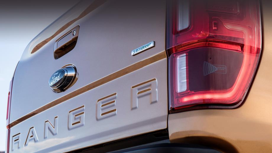 Новый Форд Ranger получит неповторимую систему слежения запространством