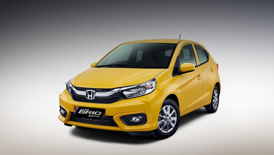 ВИндонезии представили бюджетный хэтчбек Хонда Brio